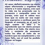 carta para un esposo