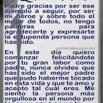 carta para un papa
